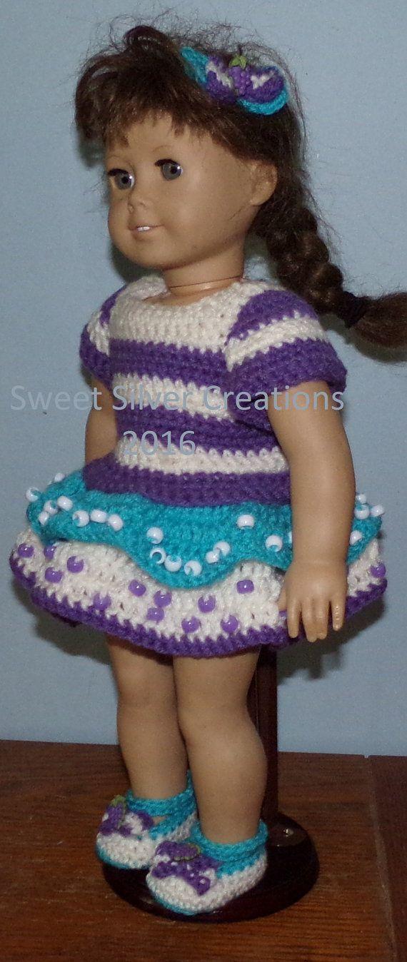 Contemporáneo Muñeca Crochet Ropa Patrones Para Muñecas De 18 ...
