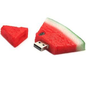2GB Watermelon USB 2.0 Flash Memory Drive: Computers & Accessories