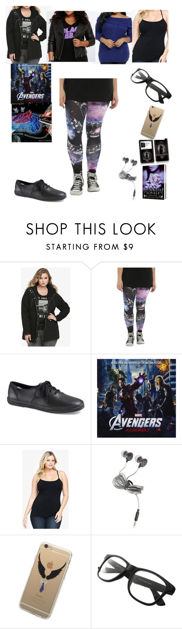 """It's Snowing, But It's Not To Bad"" by chrissy-cdm ❤ liked on Polyvore featuring Torrid, Forever 21 and plus size clothing"
