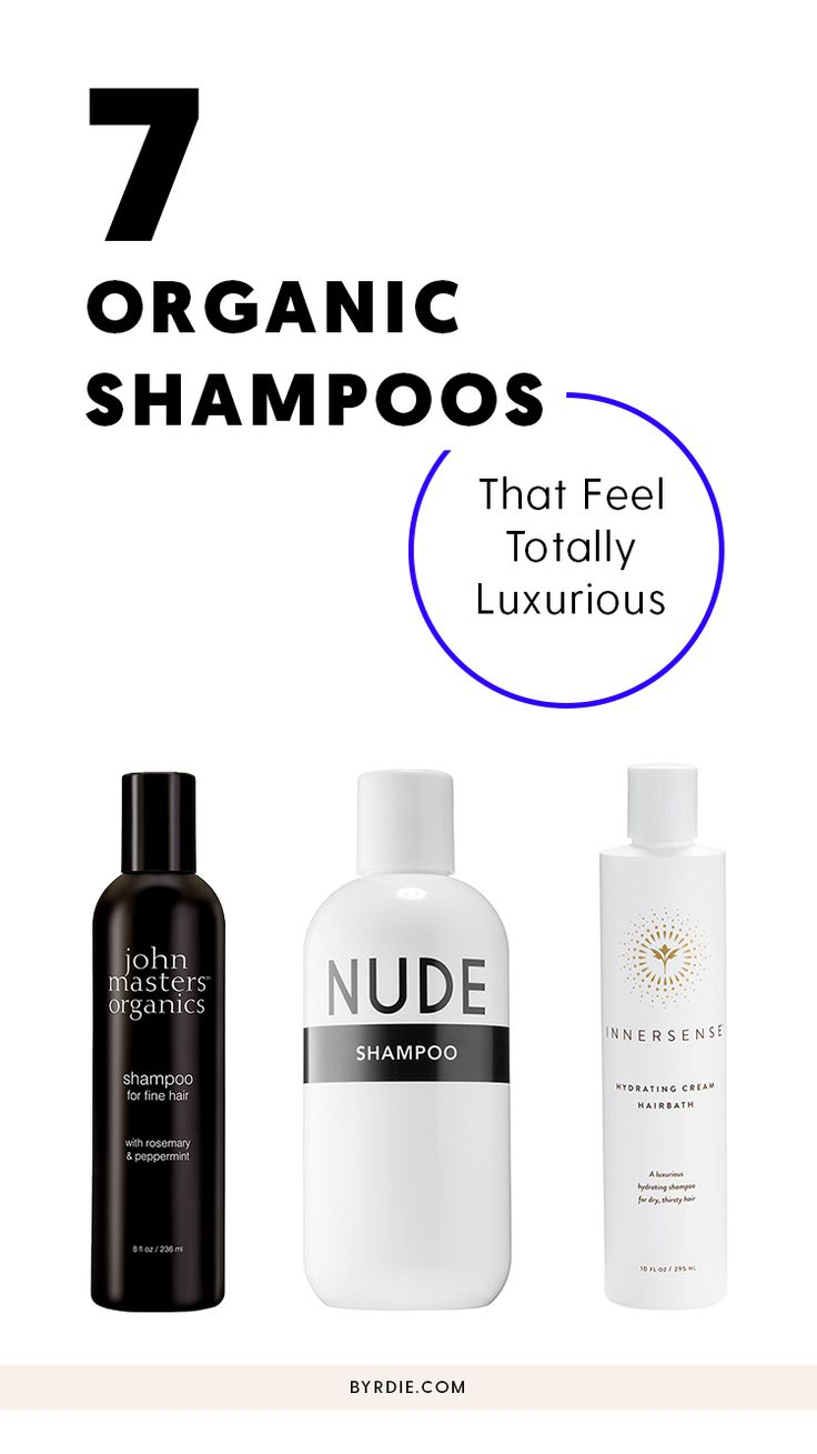 The best organic shampoos