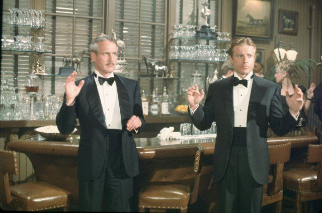 Still of Paul Newman and Robert Redford in The Sting - imdb.com