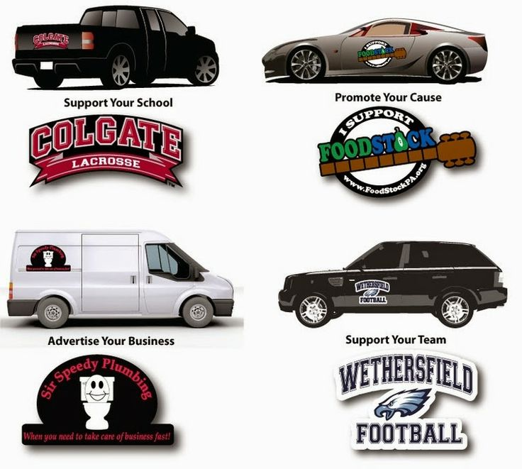 Best Images About Car Magnets On Pinterest Cars Magnetic - Custom car magnets stickers   promote your brand