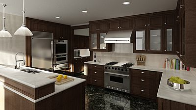 Delicieux 3DS Max   Vray · Kitchen DinningDesign ...