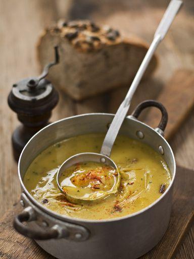 Une délicieuse soupe au potiron bien parfumée idéale pour vous régaler !