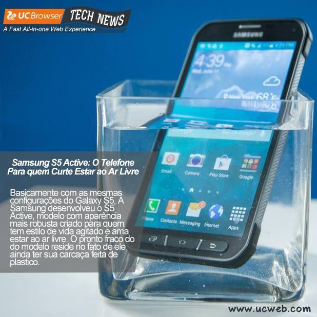 Seguindo a moda dos modelos ultra resistentes e a prova de água, a Samsung decidiu também entrar neste mercado. Na sua opinião, qual seria a marca com aparelhos mais resistentes? Nokia?
