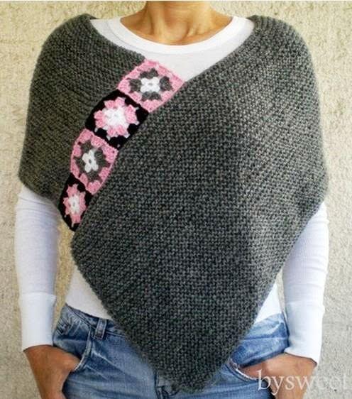 rectangulos decorado cuadros crochet