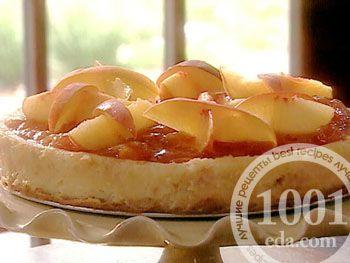 Персиковый чизкейк из Англии