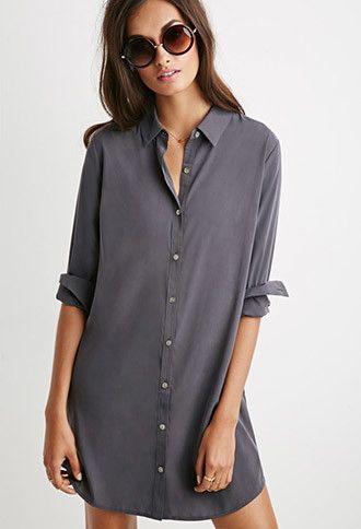 Shift Shirt Dress | Forever 21 - 2000183977