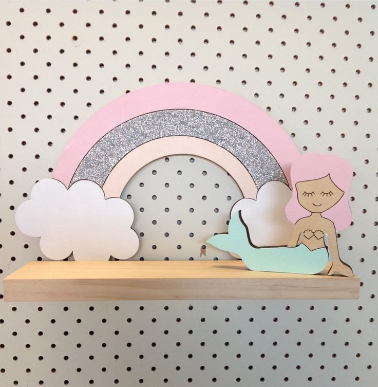 Pretty in Pine — Rainbow Dreams Shelf