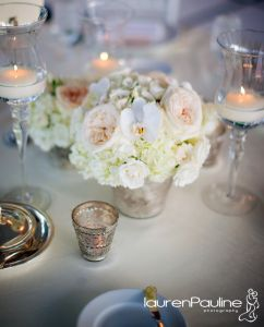Lovely tablescape from Flowers by Fudgie of Sarasota, Florida