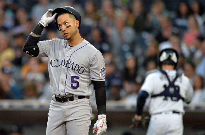 CarGo ingresó a la lista de incapacitados de los Rockies de Colorado #Beisbol #Deportes