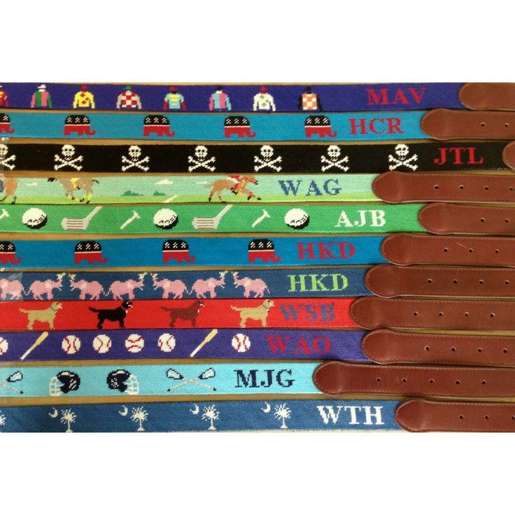 17 best custom needlepoint belts images on pinterest