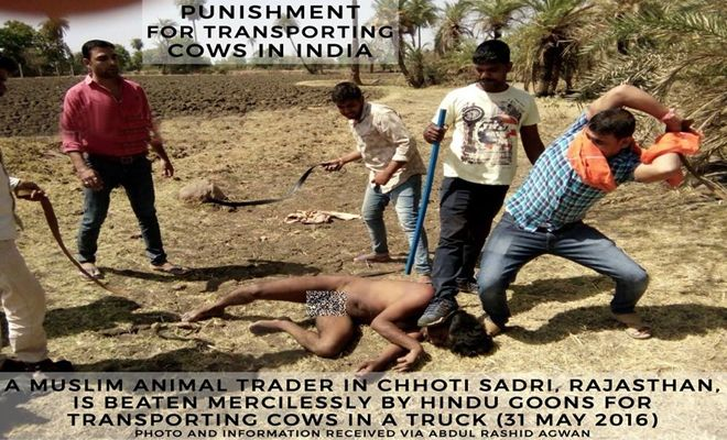 #Cow Protection, Goons Strip and Brutally Beat #MuslimsTraders