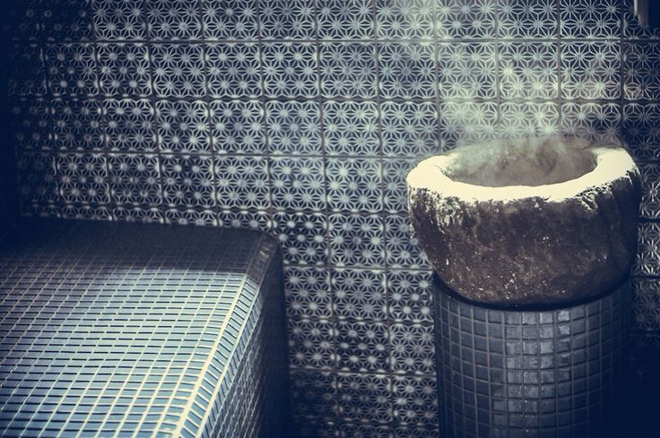 Interior design. The Hammam of Myhomespa, the exclusive Spa room for an holiday in Sicily