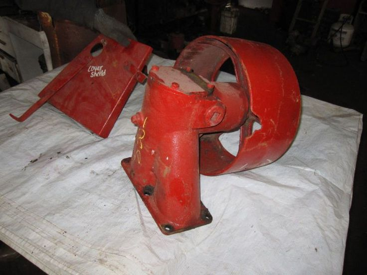 Farmall B Belt Pulley Seal : Farmall ih i o w tractor belt pulley more info date tractors