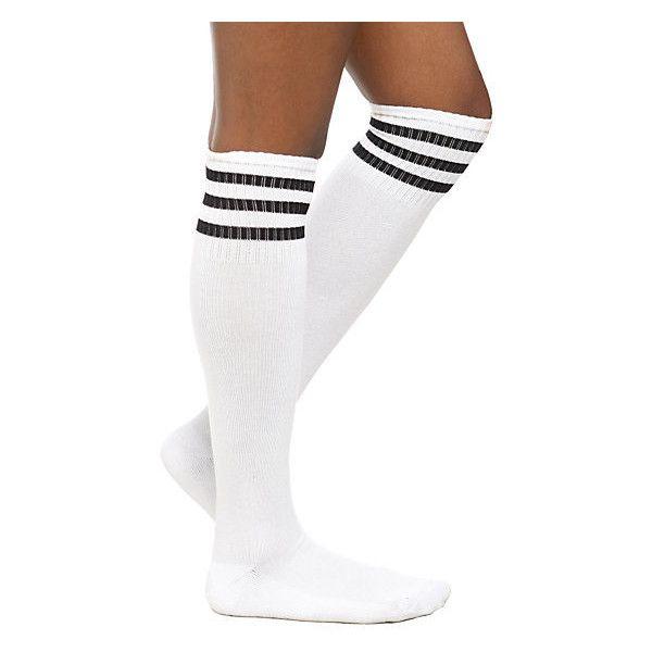 Knee high white socks porn