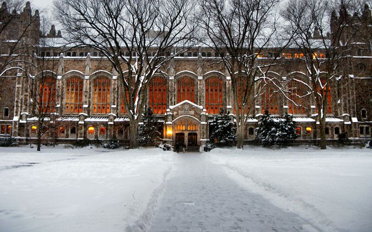 I've spent many, many hours in this place..... University of Michigan Law School/Quad,
