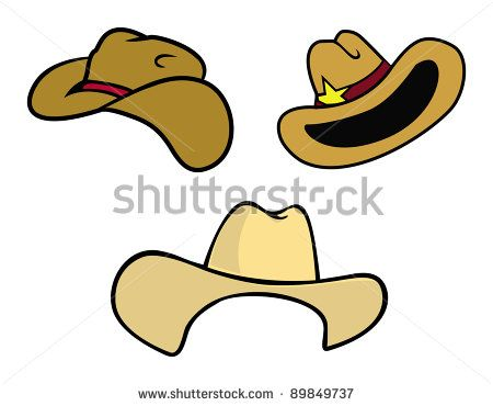 how to draw a cowboy hat and boots