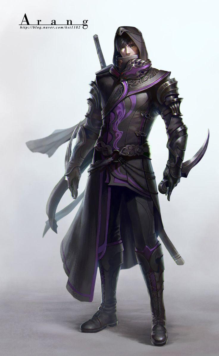 Character Design Concept Art : Best images about fantasy rangers assassins thiefs