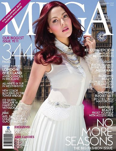Actress KC Concepcion wearing MOBO by Lesley Mobo