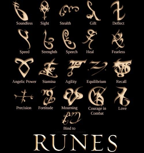The Mortal Instruments: Shadowhunter Rune Jewellery