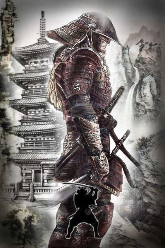 Japan Samurai Protector Samurai Warrior Tattoo Samurai