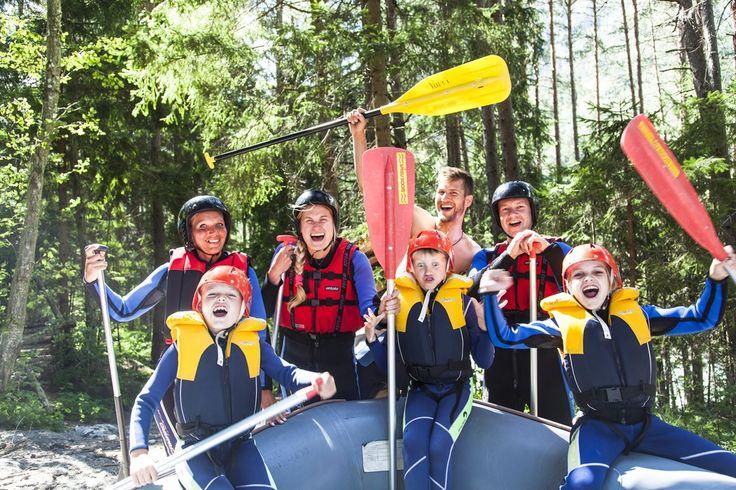 Rafting Kinderprogramm #tiroleroberland