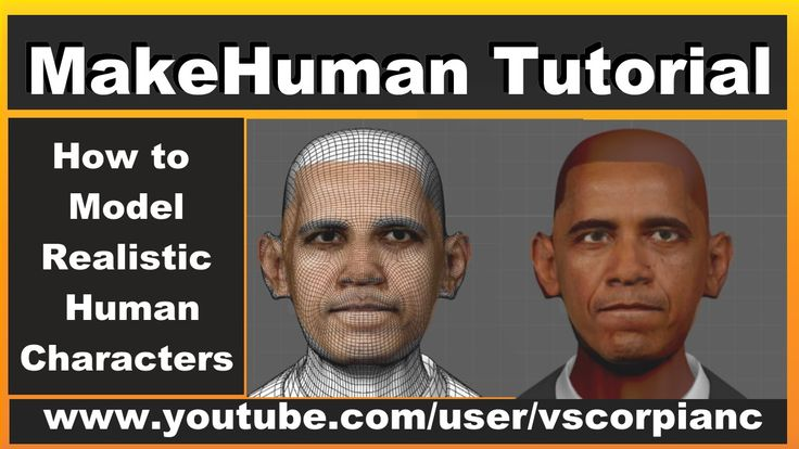 MakeHuman Tutorial - (Pt.10) How to Model Human Characters Export for Bl...