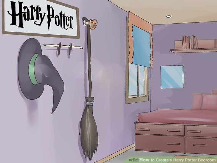 Google Image Result For Https Www Wikihow Com Images Thumb F F1 Create A Harry Potter Harry Potter Bedroom Harry Potter Room Decor Harry Potter Bedroom Decor