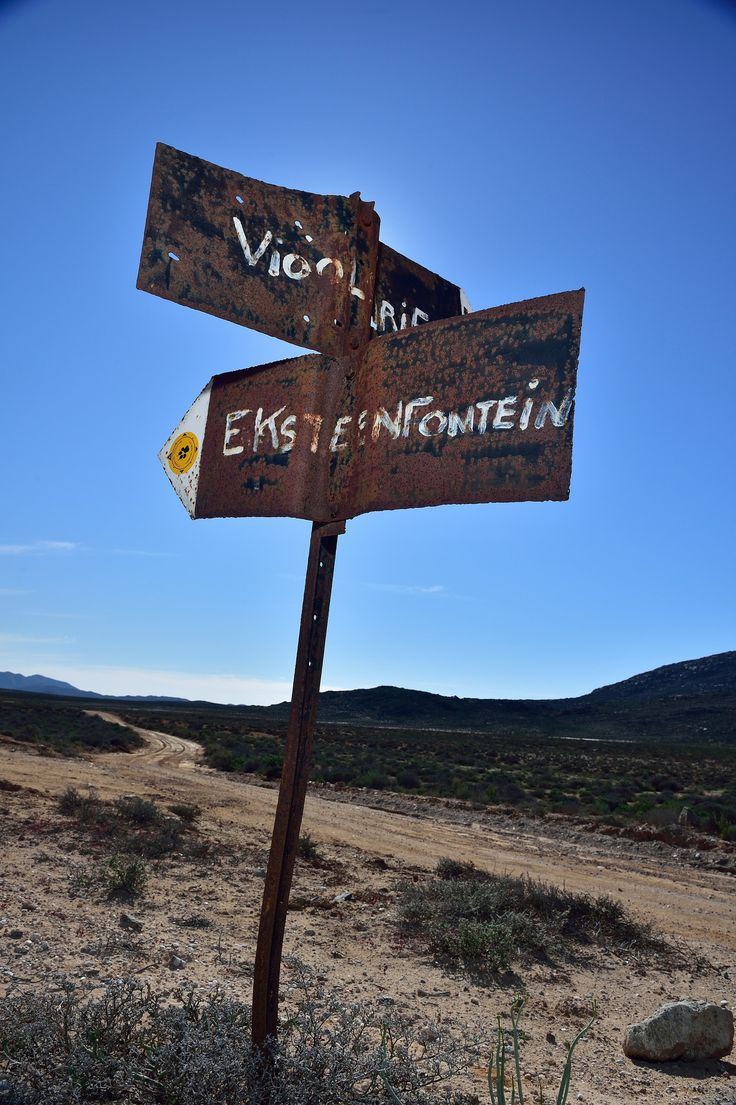 https://flic.kr/p/xigp4R | Signs, Richtersveld National Park, Unesco World Heritage site, Northern Cape, South Africa