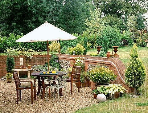 Garden Furniture On Gravel 1000+ images about zahrada on pinterest | gardens, gravel patio