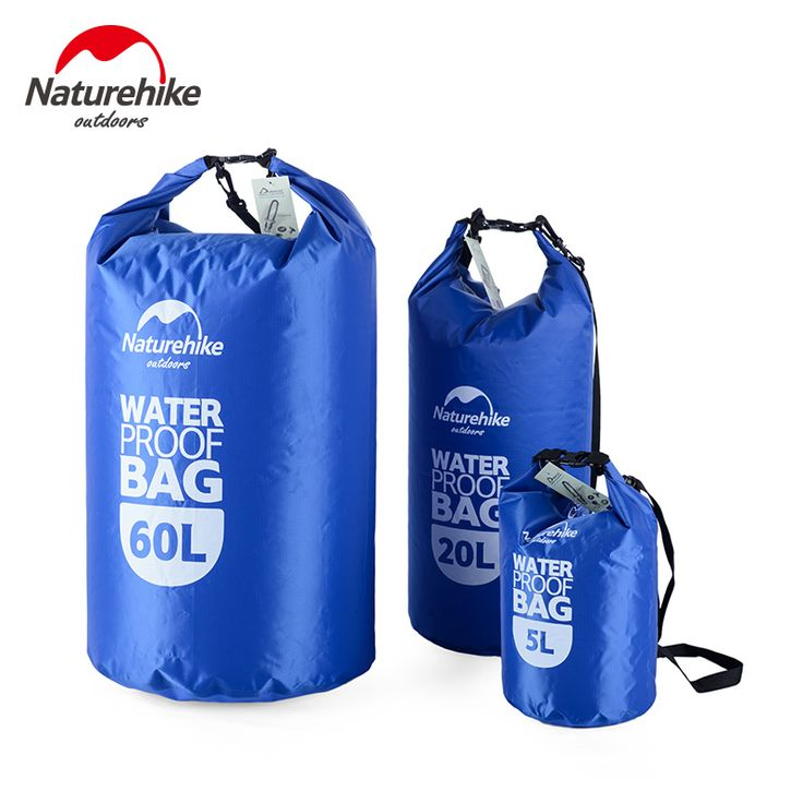 Naturehike 5L 20L 60L Waterdichte Tas Opslag Dry Sack Bag Voor Kano Kayak Rafting Outdoor Sport Tassen Reizen Kit Apparatuur