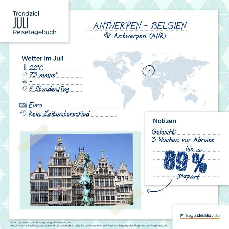 Trendreiseziel #Antwerpen in #Belgien. Günstige Flüge finden: http://flug.idealo.de/