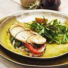 Een heerlijk recept: Gevulde kipfilet met spinazie kruiden en tomaat Pascale Naessens