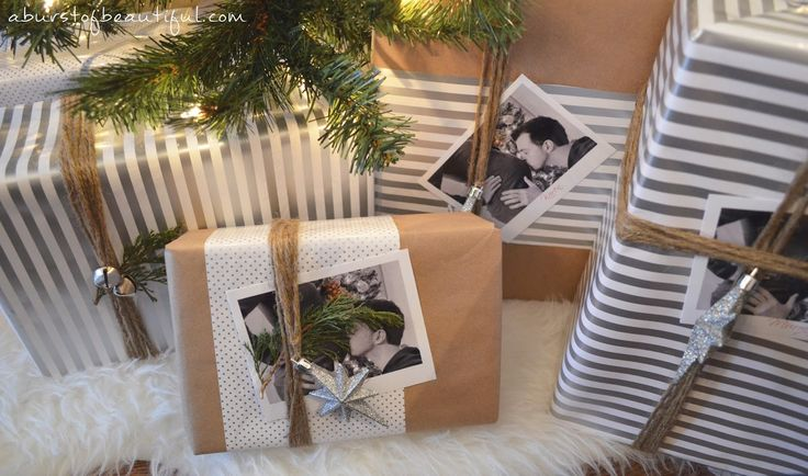 A Burst of Beautiful: Pretty Holiday Gift Wrap