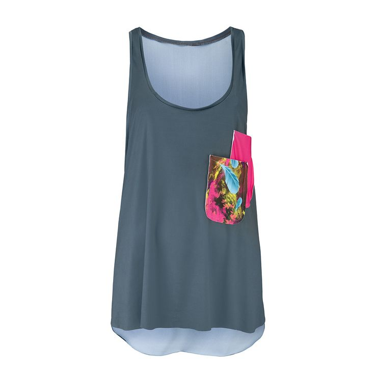 NOLY Tank Top Boracay Sunset - Women's fitness and yoga clothing. Great for active gym workouts or aerobic sessions. Romance sport and fashion