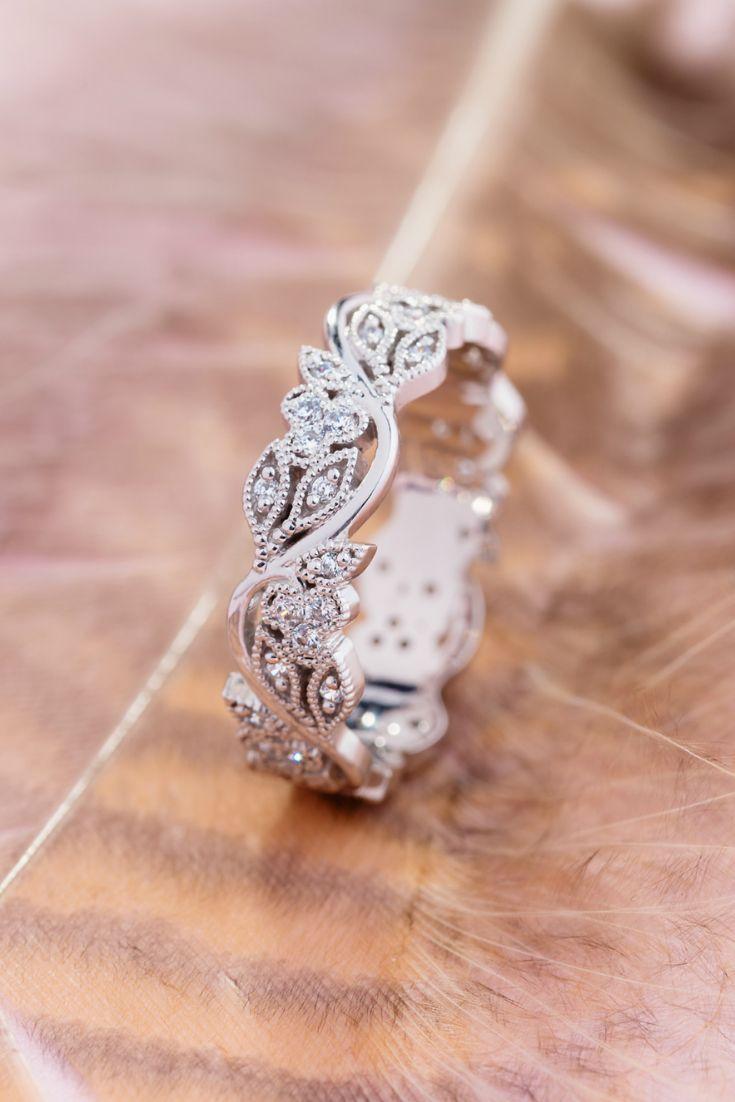 Gold Floral Wedding Band For Women Vintage Style Wedding Ring Ring For Her Gold Wedding Ring Anniversary Ring Wedding Rings Vintage Wedding Rings For Women Boho Wedding Ring