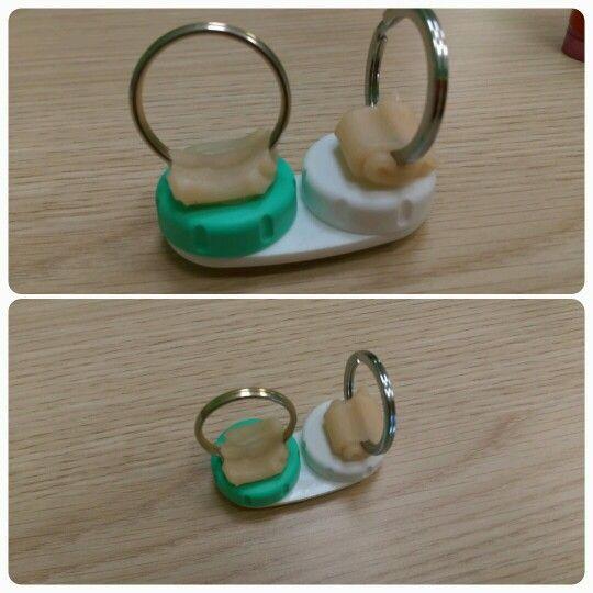 Contact lens container for tetraplegic #sci #tetraplegic