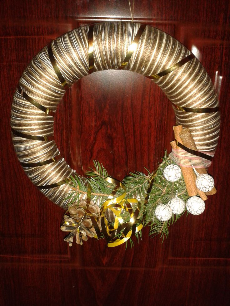 Wreath made by my partner