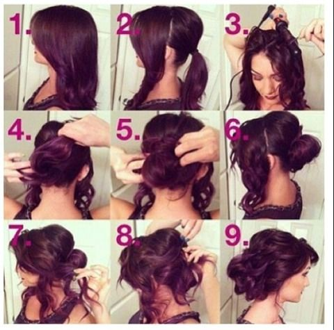 Fast And Easy Hairstyles Everyday Quick And Easy Hairstyle  Hair And Makeup  Pinterest
