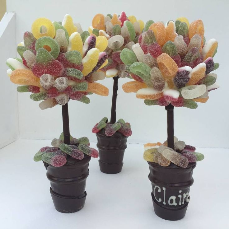 Personalised Fizzy Pick And Mix Sweet Tree.