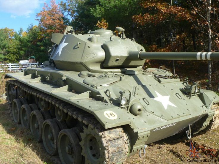 1943 M24 Chaffee Tank - RARE WWII Armor! Photo