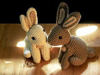 Hopscotch Bunny #amigurumi