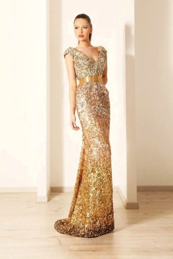 New year dress color
