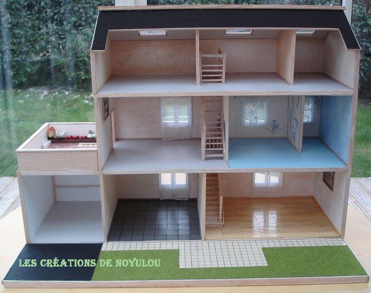 LES CREATIONS DE NOYULOU: Ses Playmobils ont enfin leur maison