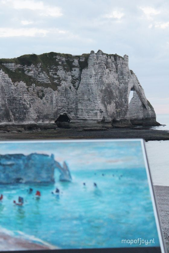Travel report Étretat, Normandy, France - Map of Joy