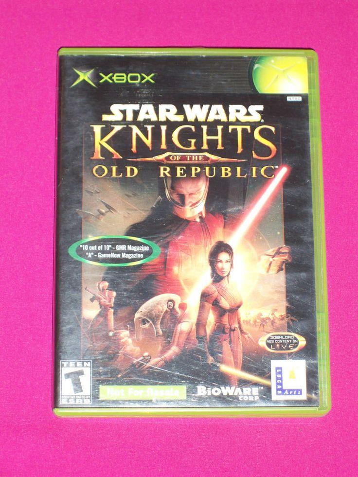Star Wars Knights of the Old Republic 1 - RPG Xbox Game 2003 Darth Malak | eBay