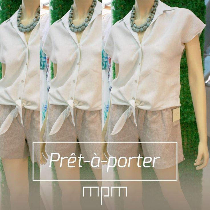 Prêt-à-porter es una expresión francesa que significa textualmente «Listo para llevar». Se refiere a las prendas de moda producidas en serie con patrones que se repiten en función de la demanda #ModaEnMPM