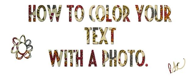 How to Color Your Text with a Photo TutorialTexts, Colors, Image, Awesome Tutorials, Photoshop Tutorials, Photos Tutorials