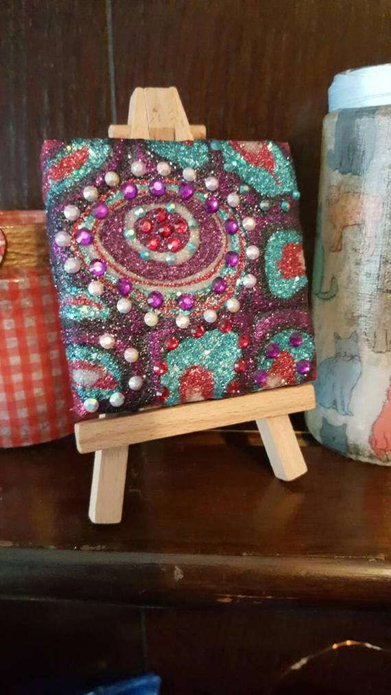 Check out this item in my Etsy shop https://www.etsy.com/uk/listing/518840471/glitter-canvas-art-original-abstract